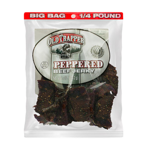 Old Trapper Peppered Beef Jerky 4 oz