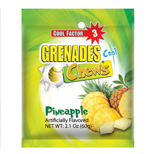Pineapple Grenades Chews 4ct