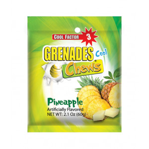 Pineapple Grenade Chews 2.1 oz
