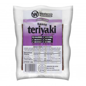 Western's Smokehouse Teriyaki Sticks 8 Ct (4 oz)