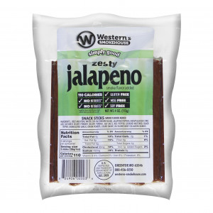 Western's Smokehouse Jalapeno Sticks 8 Ct (4 oz)