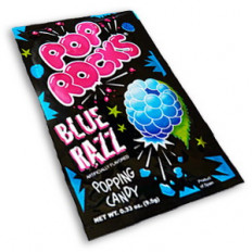 Blue Razz Pop Rocks 0.33 oz