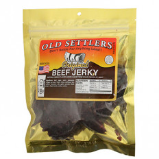Old Settlers Original Beef Jerky 4 oz