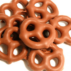 No Sugar Added Chocolate Pretzels 8 oz