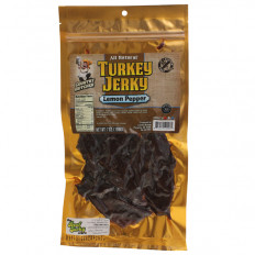 Country Butcher Lemon Pepper Turkey Jerky 7 oz