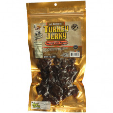 Country Butcher Chili Pepper Turkey Jerky 7 oz