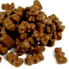 Sugar Free Chocolate Gummi Bears 4 oz