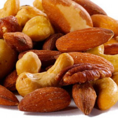 Roasted Salted Mixed Nuts 8 oz