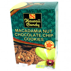 Hawaii Candy Mac Nut Choc Chip Cookies 5oz