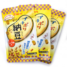 Shoyu Flavored Dried Natto 4 count