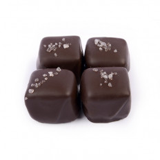 No Sugar Added Dark Chocolate Caramels 8 oz