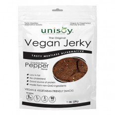 Black Pepper Vegan Jerky 1 oz