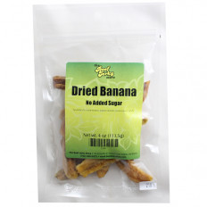 Dried Banana No Added Sugar 4 oz
