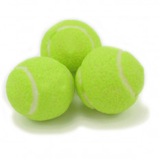 Sour Lemon Lime Tennis Gum Balls 8 oz