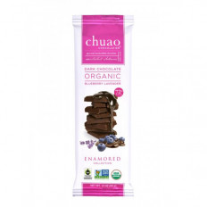 Chuao Dark Organic Blueberry Lavender Bar 2.1 oz