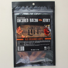 Slice of Life Old Fashion Maple Uncured Bacon Jerky 2 oz