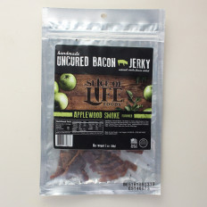 Applewood Smoke Uncured Bacon Jerky 2 oz