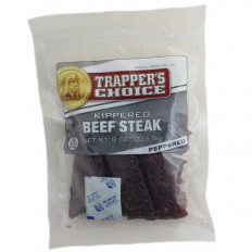 Trapper's Choice Peppered Kippered Beef Steak 8 oz