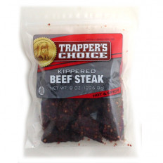 Trapper's Choice Spicy Kippered Beef Steak 8 oz