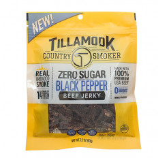 Tillamook No Sugar Black Pepper Beef Jerky 2.2 oz