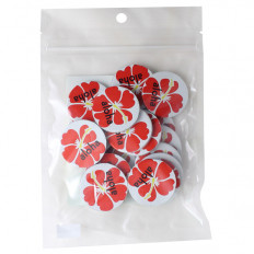 Aloha Chocolate Poker Chips 8 oz