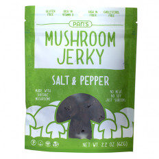 Pan's Sea Salt & Pepper Mushroom Jerky 2.2 oz