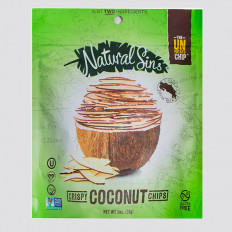 Natural Sins Coconut Chips 1 oz