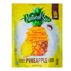 Natural Sins Pineapple Chips 1 oz