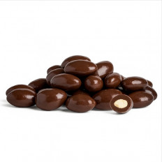 Dark Chocolate Almonds 16oz