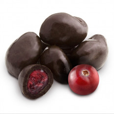 Dark Chocolate Cranberries 16 oz