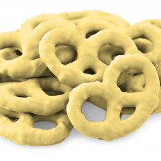 Lemon Creme Yogurt Pretzels 8 oz